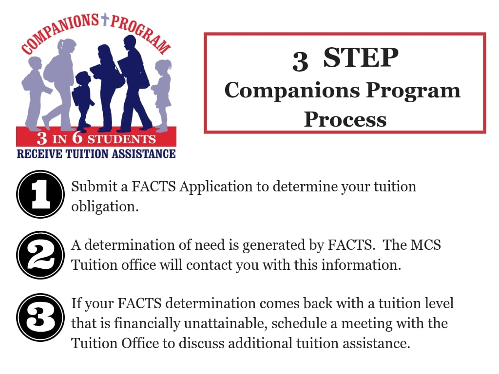 3 Step companion program process